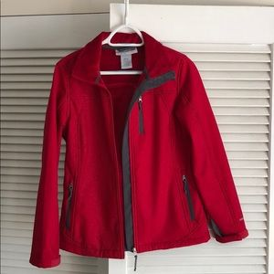 Gorgeous red shell jacket